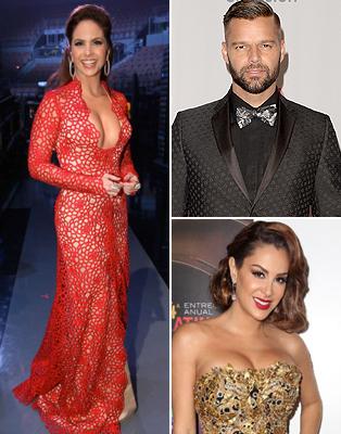 Latin Grammy 2013: Los mejor vestidos