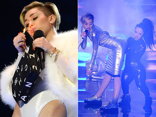 Miley Cyrus. MTV Europe Video Awards 2013