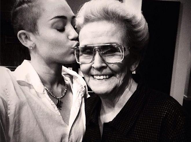 Miley Cyrus, sin filtro