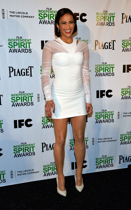 Paula Patton, El look del día