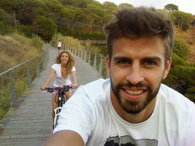 Shakira, Gerard Piqué, Sin filtro, selfie