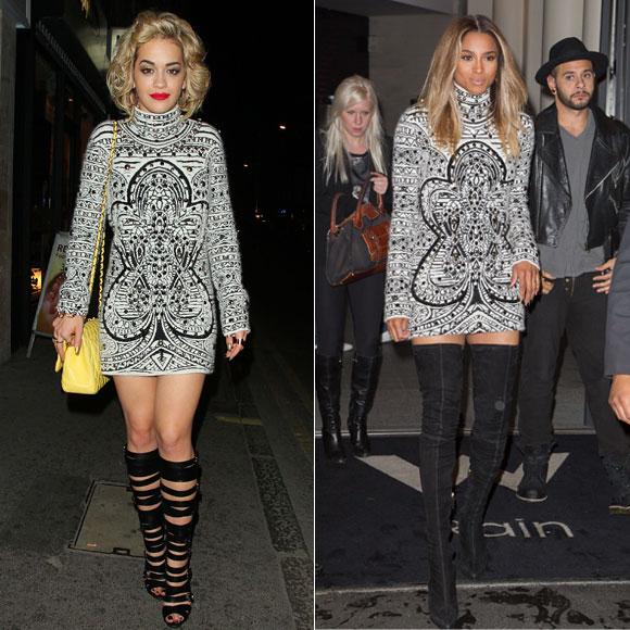 Rita Ora, Ciara, Dos mujeres
