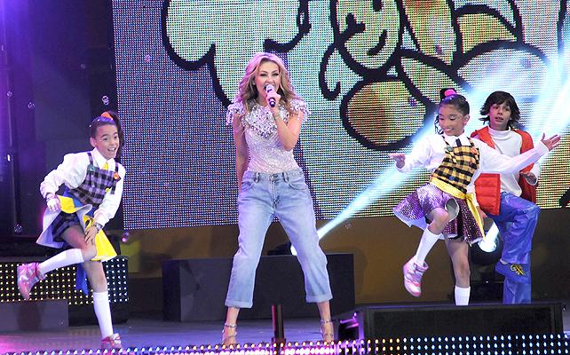 Thalía en el Teletón