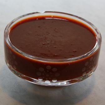 Salsa negra de chile pasilla