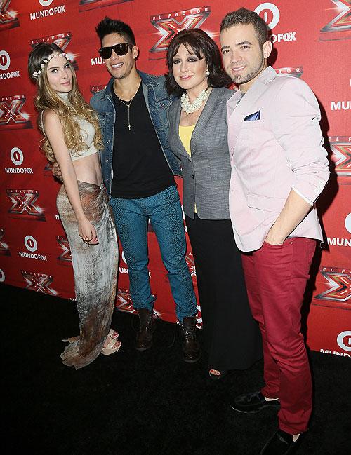 Belinda, Angélica María, Chino y Nacho