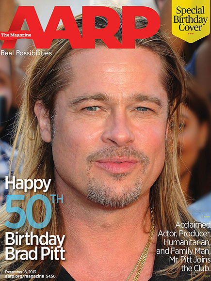 Brad Pitt, AARP