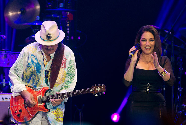 Carlos Santana, Gloria Estefan, Miralos