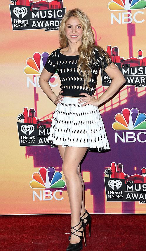Shakira, iHeartRadio Music Awards 2014, Ellas