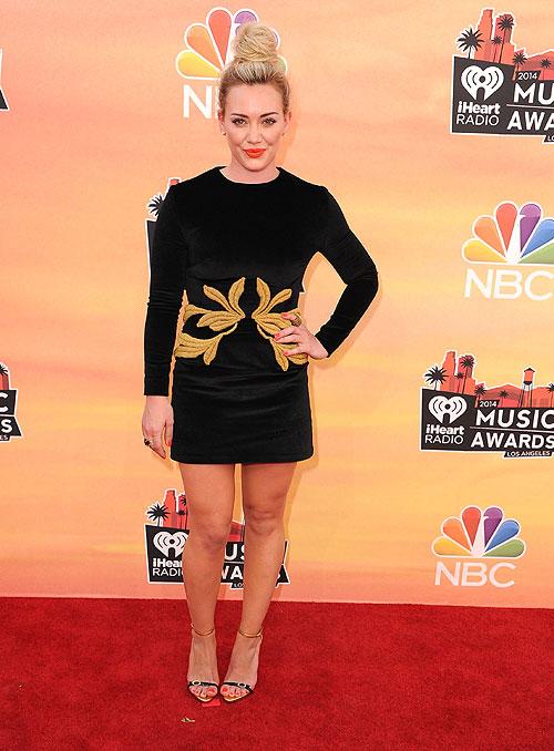 Hilary Duff, iHeartRadio Music Awards 2014, Ellas