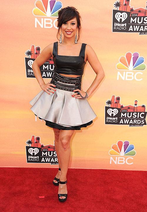 Cheryl Burke, iHeartRadio Music Awards 2014