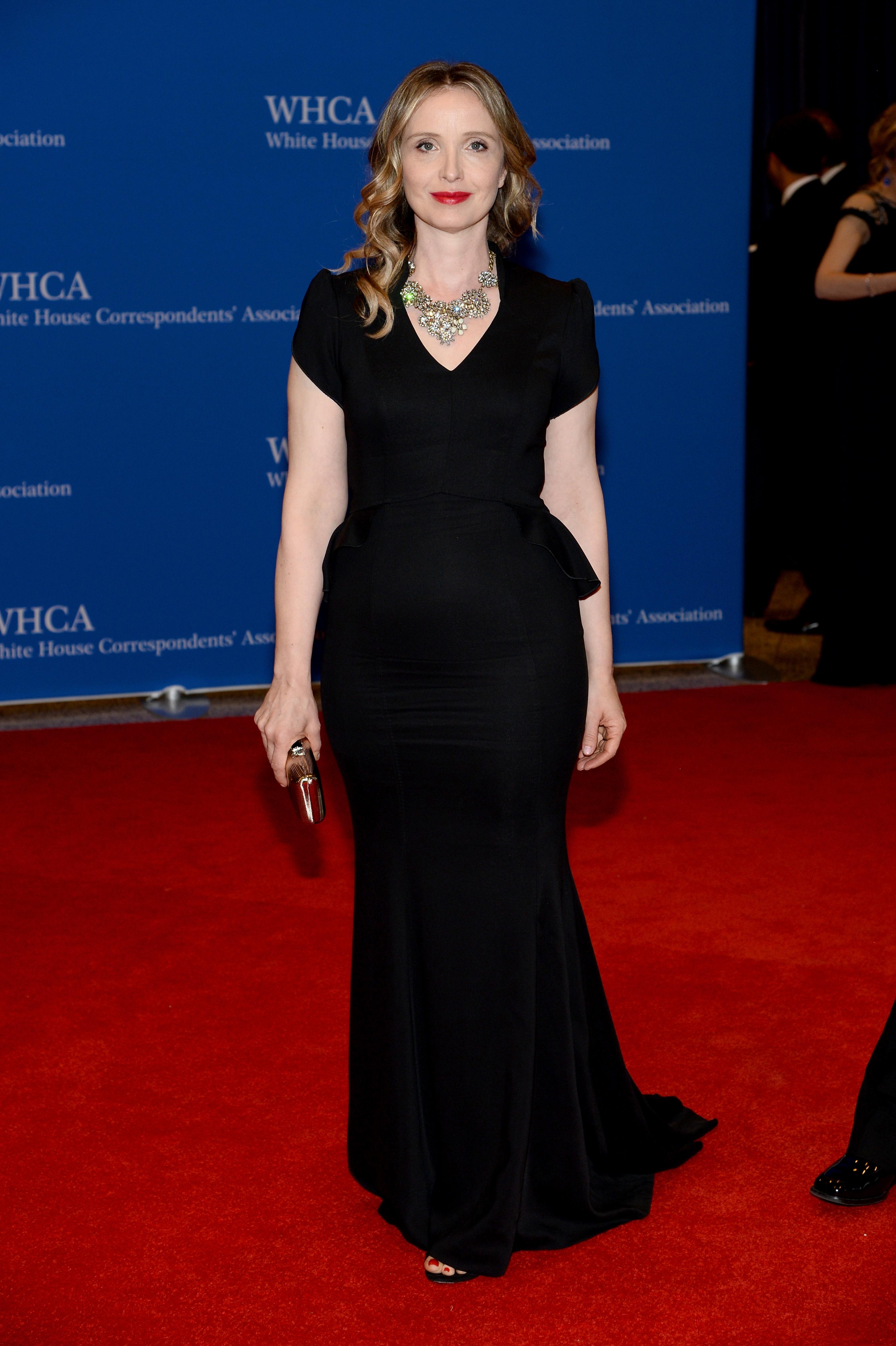 Julie Delpy, Cena de corresponsales de la Casa Blanca 2014