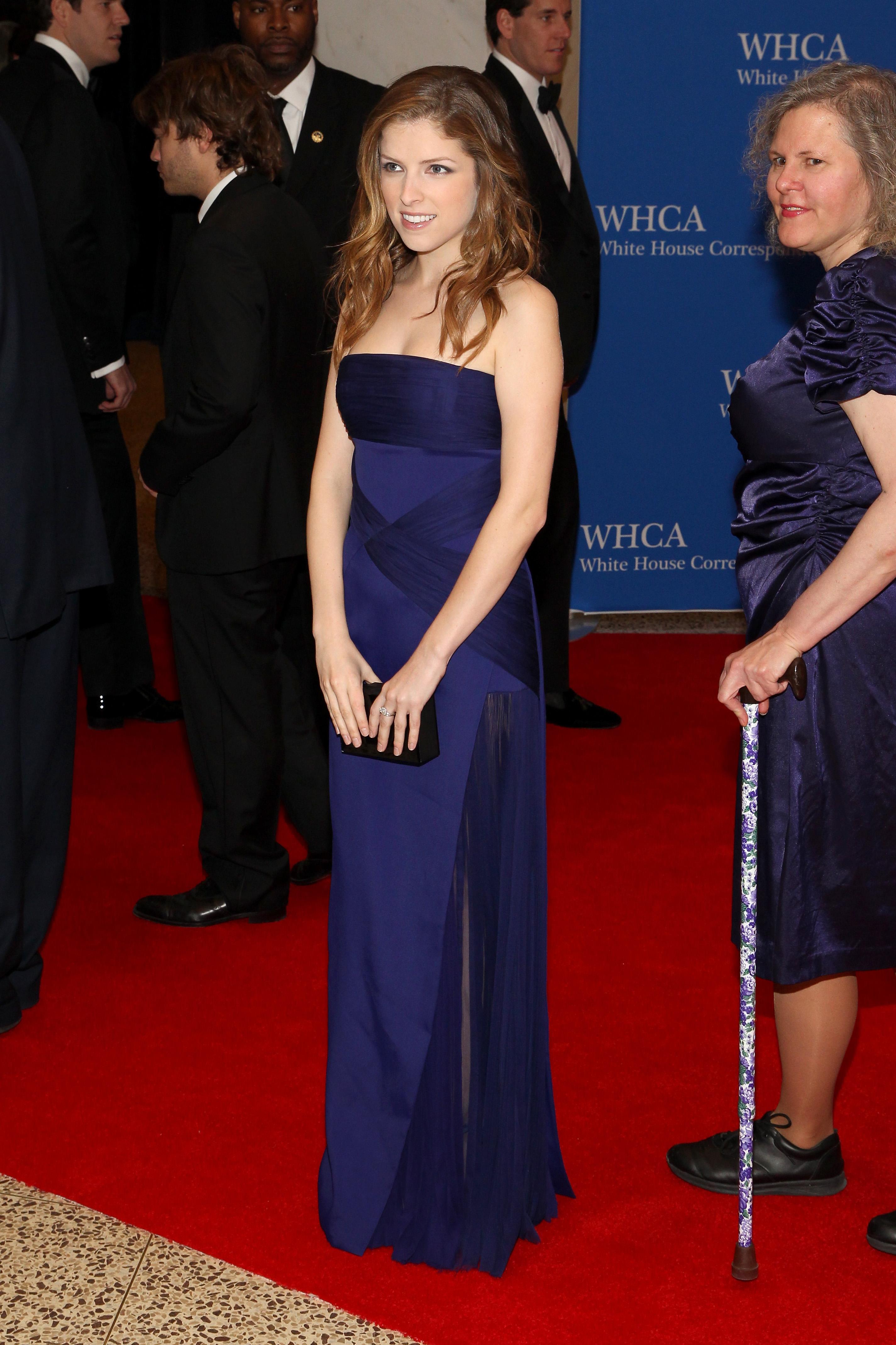 Anna Kendrick , Cena de corresponsales de la Casa Blanca 2014
