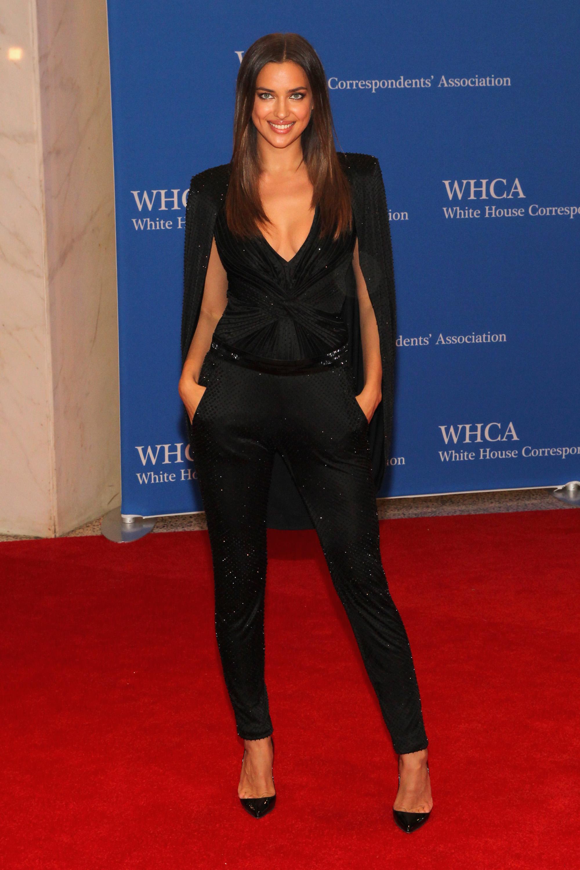 Irina Shayk, Cena de corresponsales de la Casa Blanca 2014