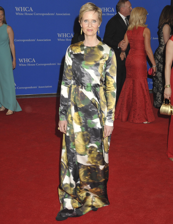 CYNTHIA NIXON, Cena de corresponsales de la Casa Blanca 2014