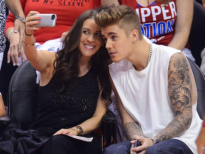 Justin Bieber, Pattie Mallette, Míralos