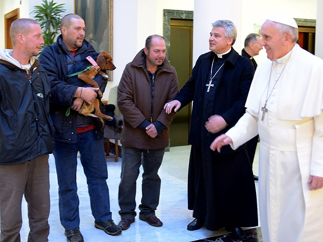 Papa Francisco, cumpleaños #77