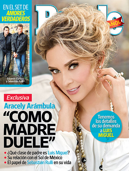 Aracely Arámbula, People en espanol