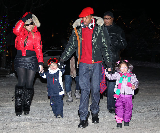 Mariah Carey, Moroccan y Monroe, Nick Cannon, Míralos