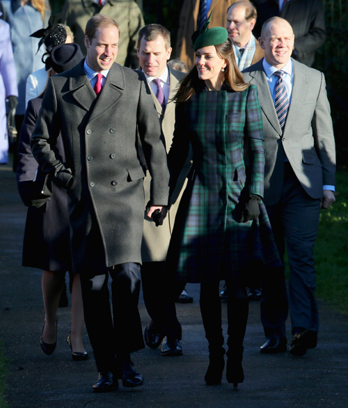 Príncipe William, Kate Middleton, El look del día