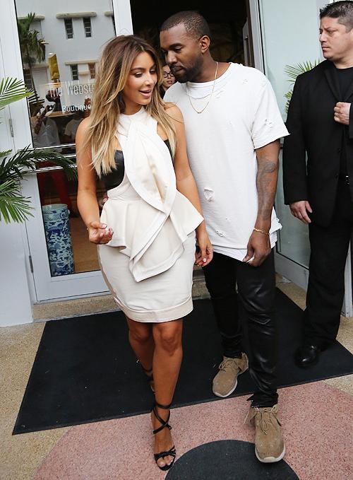 Kim Kardashian, Kayne West, Míralos