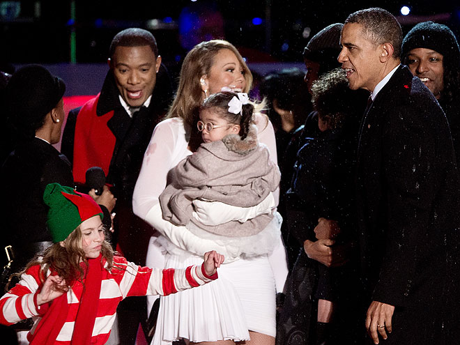 Monroe Cannon, Barack Obama, Mariah Carey