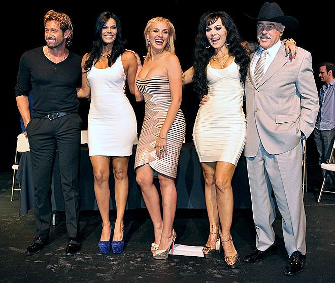 Gabriel Soto, Davianny Rivero, Malillany Marín, Maribel Guardia, Andrés García, Míralos