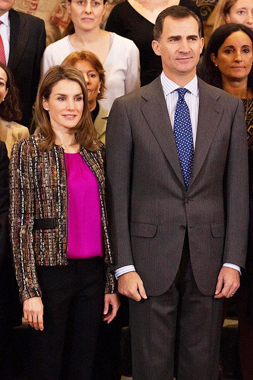 Letizia Ortiz, Príncipe Felipe, Míralos