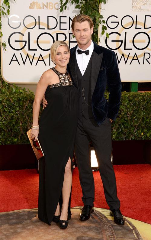Chris Hemsworth, Golden Globes 2014, Ellos