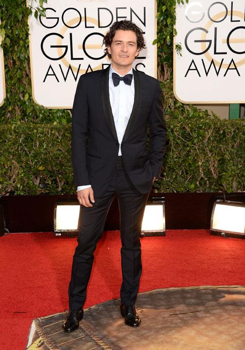 Orlando Bloom, Golden Globes 2014, Ellos