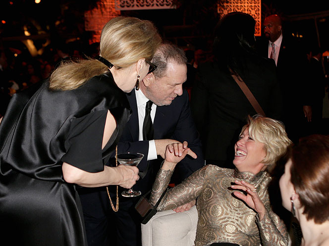 Meryl Streep, Harvey Weinstein, Emma Thompson