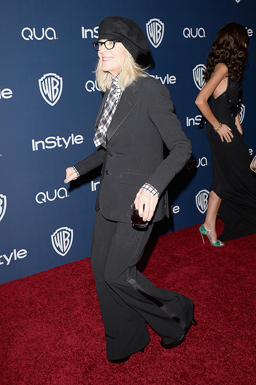Globo de Oro 2014, fiesta después Diane Keaton
