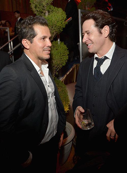 Globos de Oro 2014, fiesta después, John Leguizamo, Rob Morrow