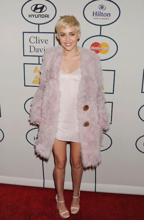Miley Cyrus, El look del día