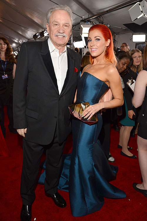 Giorgio Moroder, Bonnie McKee, Alfombra Grammy 2014