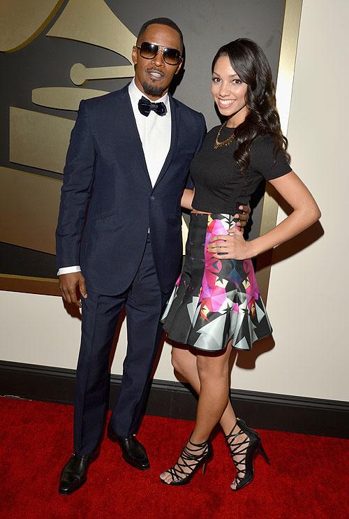 Premios Grammy 2014, Jamie Foxx, Corinne Bishop