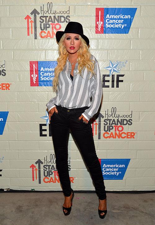 Christina Aguilera, El look del día