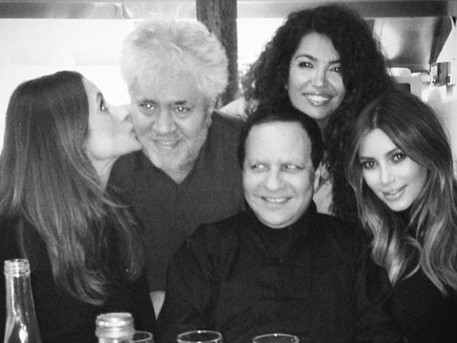 Kim Kardashian, Pedro Almodóvar