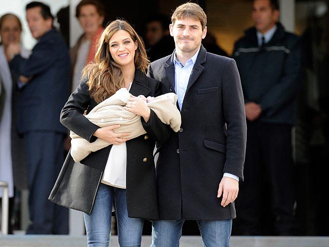 Iker Casillas, Sara Carbonero, Martín
