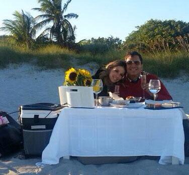 Daniel Sarcos y Alessandra Villegas celebran su segundo aniversario de novios