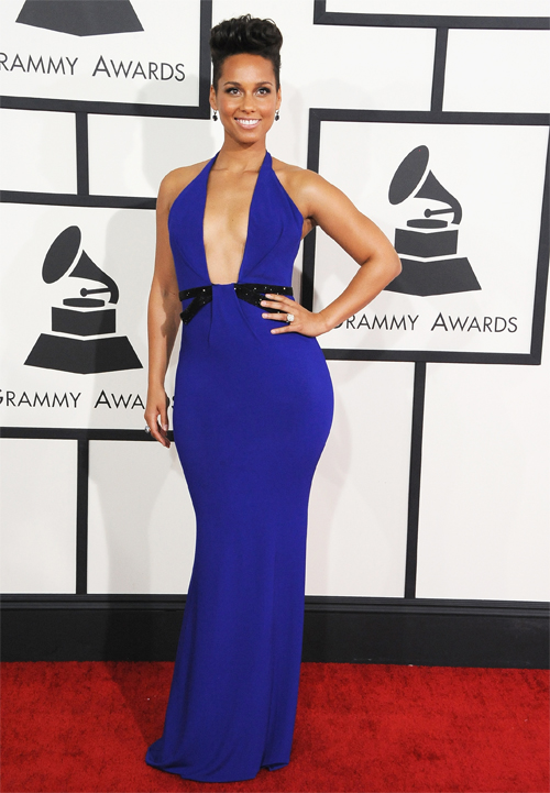 Premios Grammy 2014 ellas, ALICIA KEYS