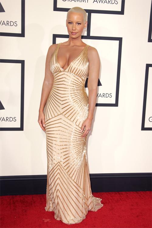Grammy 2014 Ellas, AMBER ROSE