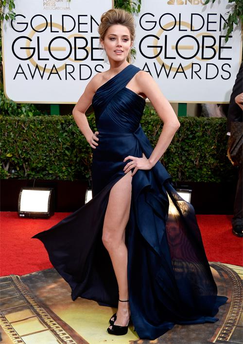 Golden Globes 2014 ellas, AMBER HEARD
