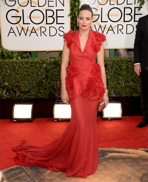 BÉRÉNICE BEJO, Golden Globes 2013 Ellas