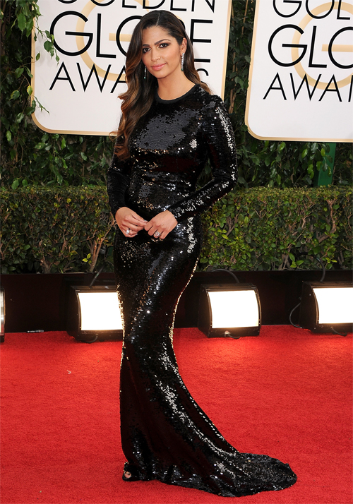 Golden Globes 2013 Ellas, CAMILA ALVES
