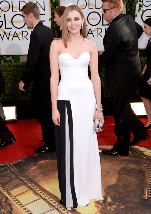 Golden Globes 2014 Ellas, Laura Carmichael