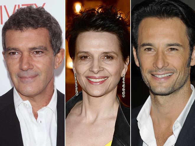 Compose Antonio Banderas, Rodrigo Santoro, Juliette Binoche, Los 33