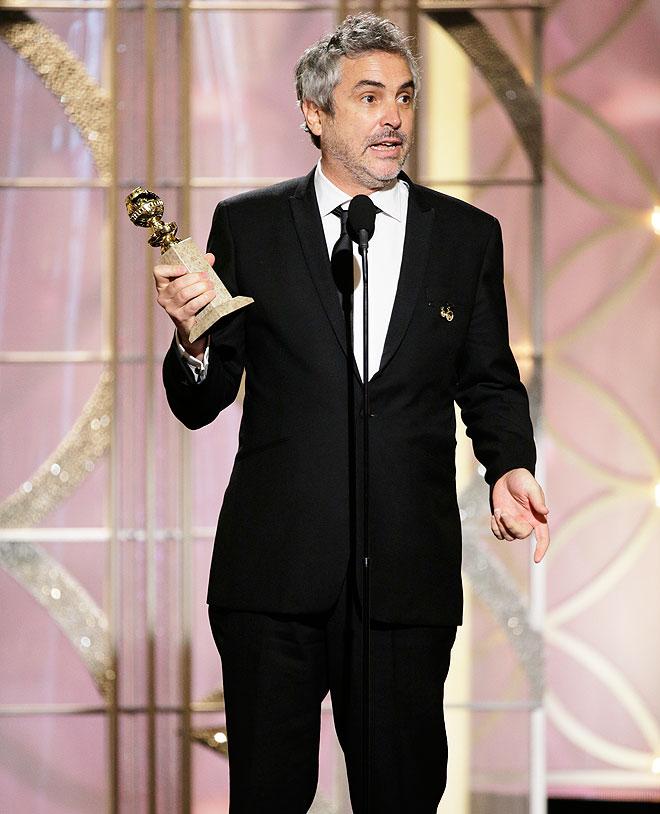 Alfonso Cuarón, Golden Globes, Globos de Oro, 2014