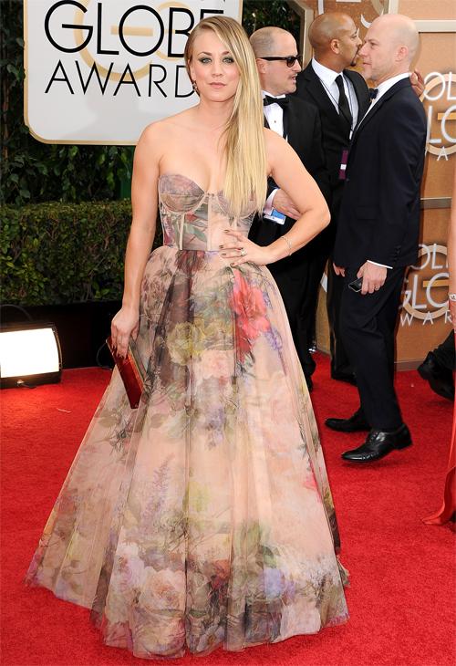 KALEY CUOCO, Golden Globes 2013 Ellas