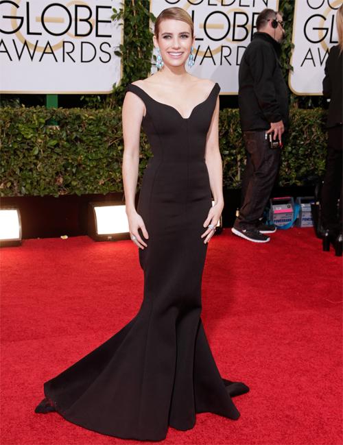 EMMA ROBERTS, Golden Globes 2013 Ellas