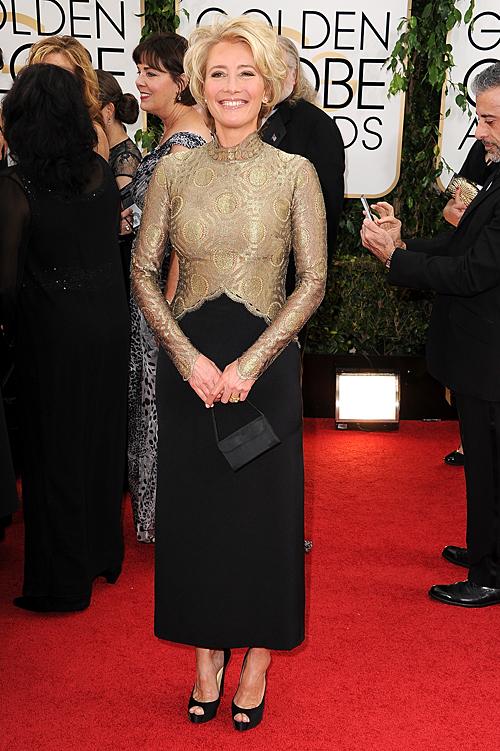 Golden Globes 2013 Ellas, EMMA THOMPSON